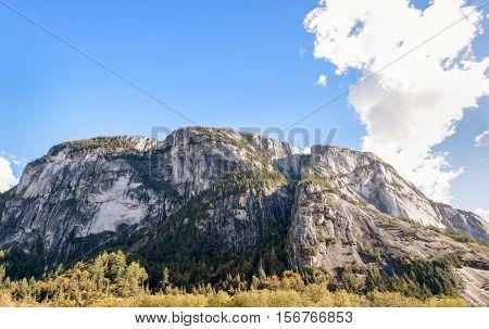 Stawamus Chief Mountain in Squamish British Columbia Canada