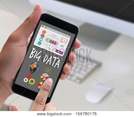 Big Data  Storage System Networking Technologie Word Cloud Information  Big Data Management Brainsto