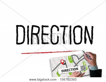 Direction City Map Destination Way Route  City Map Destination Route
