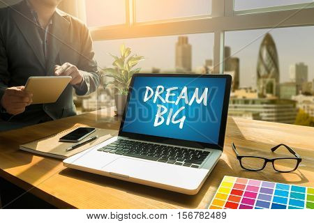Dream Big Daily Planner Dream Big Set Goal  Take Action