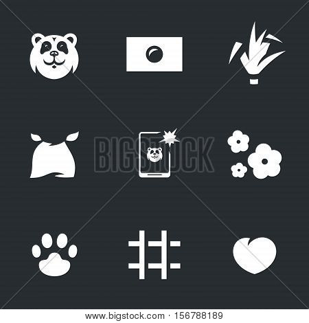 Bear, japan flag, bamboo, bib, selfie, cherry, paw, cell, heart.