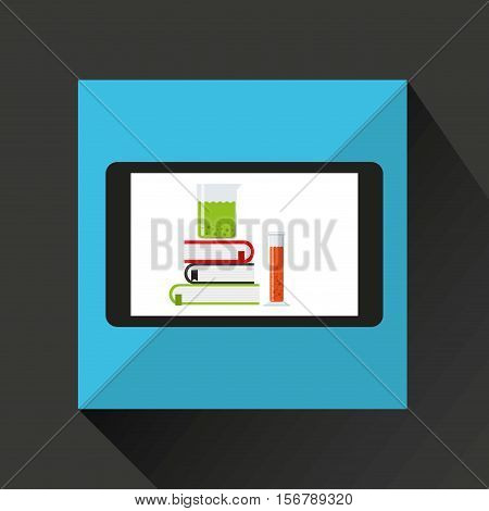 chemistry laboratory smartphone discovery vector illustration esp 10