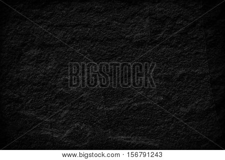 Dark grey black slate background or texture. black slate stone slab background or texture.