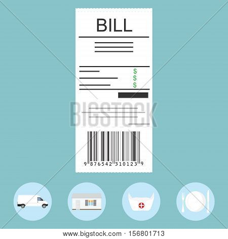 Paying Bills Concept