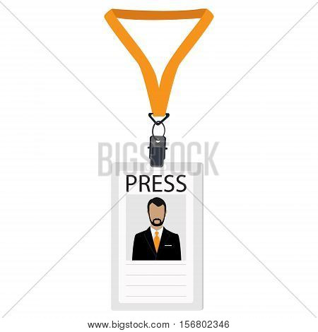 Press Badge Vector