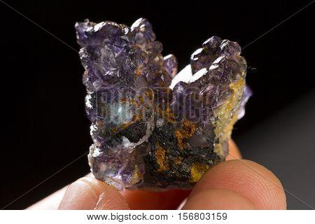Fluorite mineral specimen the natural gem rock