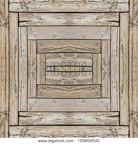 Seamless abstract wood plank texture background for design