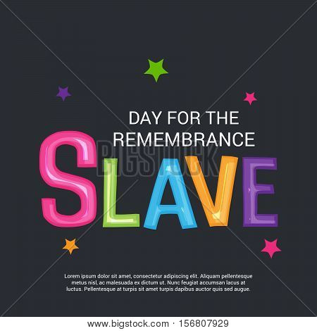 Day For The Remembrance Slave_15_nov_24