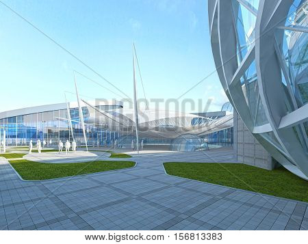 Operated Roof Design Megamall.