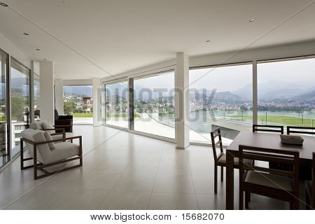 beautiful interior of a modern house