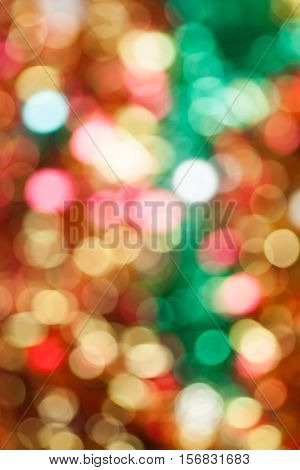 christmas colored backgraund in disfocus image on
