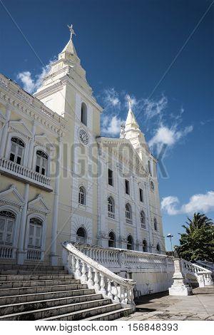 Catedral Nossa Senhora Da Luz's Church, Sao Luis, Maranhao, Brasil
