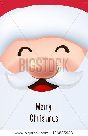 Santa's greeting card