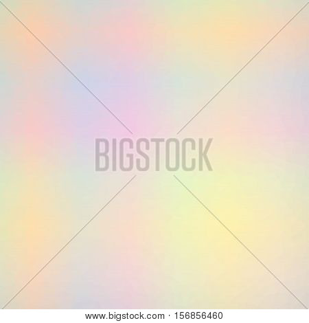 Low Poly Pattern Design. Small Cells. Vector Polygonal Background Filled With Tinted Colors Gradient