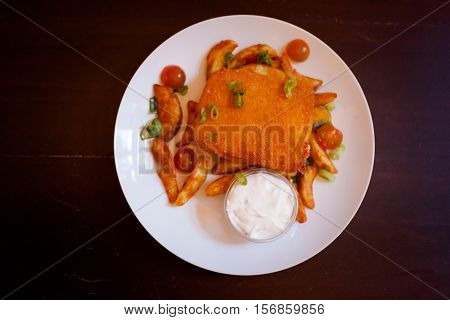 Delicious Famous Czech Fried Cheese