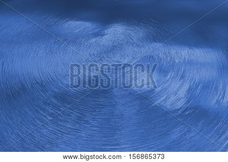 Closeup of water splash in blue tonality.
