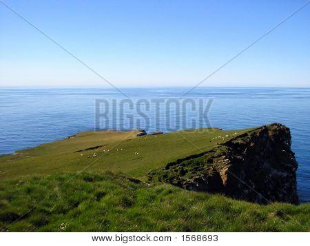Northern Tip Of Grimsey, Iceland