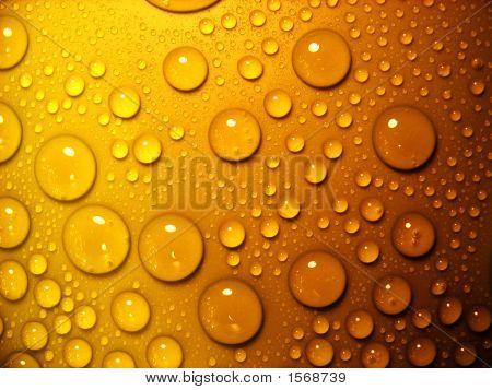 Waterdrops_Orange