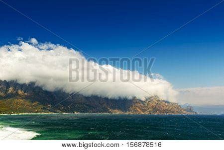 Clouds Over Coastal Mountains