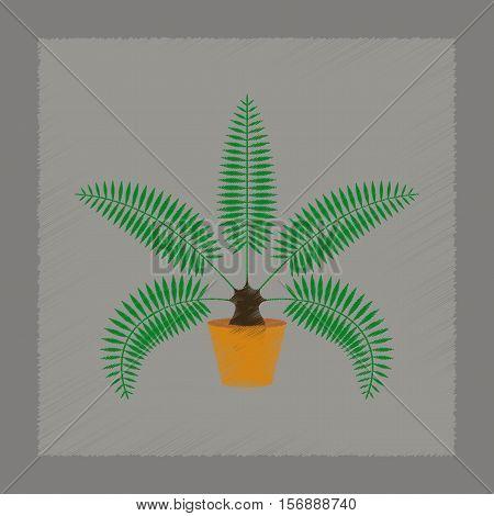flat shading style illustration of natural phoenix