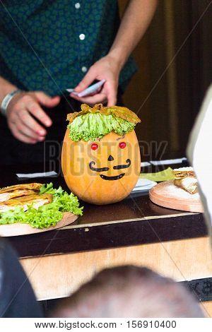 Pumpkin's Head.