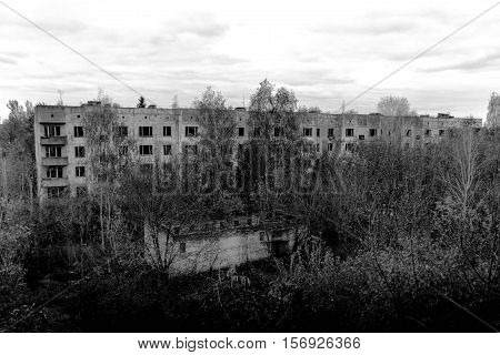Abandoned Rise Buildings.