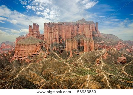 Zhangye National Geopark, Gansu, China