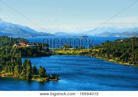 Lakes in Patagonia, Argentina