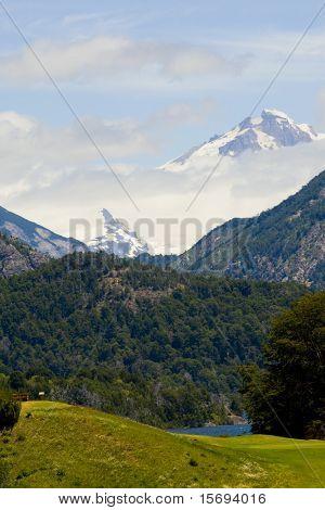 Cerro Tronador on the Argentina Chile border