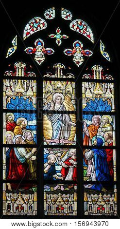 Stained Glass - Ascension Of Jesus