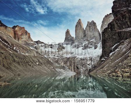 Mirador Las Torres, Torres del Paine, Chile