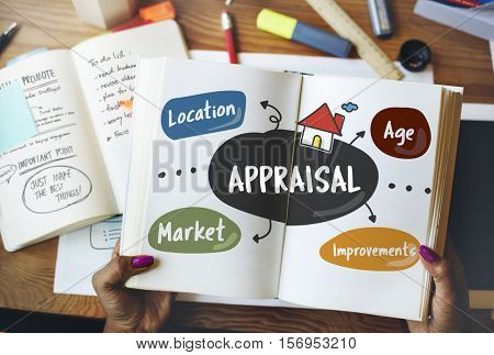 Mortgage Property Residential Appraisal Concept