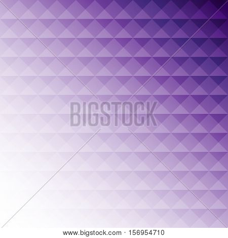 Abstract purple mosaic design background stock vector