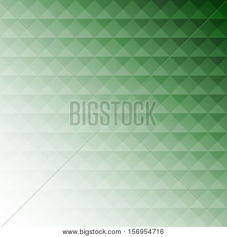 Abstract green mosaic design background stock vector
