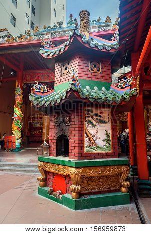 Guan Di Temple In Chinatown. Kuala Lumpur