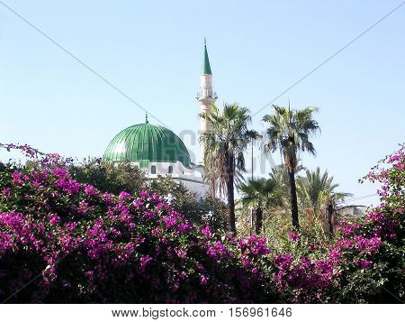 Al-Jazzar Great Mosque in Akko (Acre) Israel