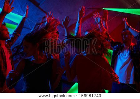 Energetic clubbers