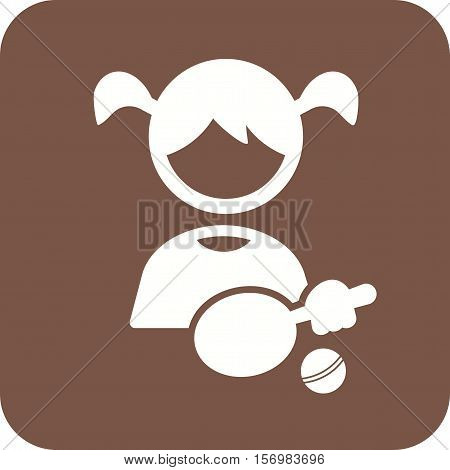 Toy, playing, tennis icon vector image. Can also be used for kids. Suitable for web apps, mobile apps and print media.