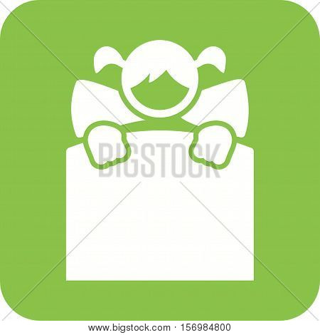 Baby, bed, newborn icon vector image. Can also be used for kids. Suitable for use on web apps, mobile apps and print media.