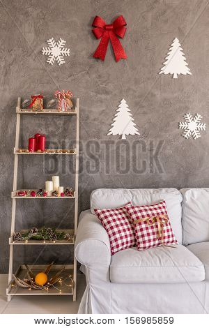 Shelf With Decorations