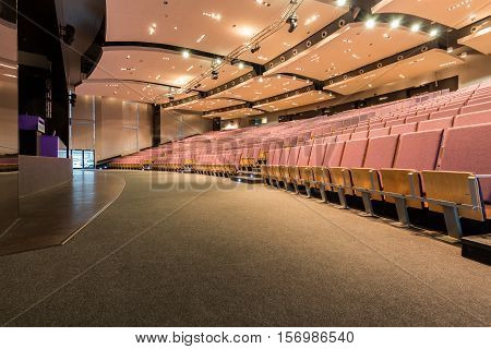 Lecture Hall With Dropped Ceiling