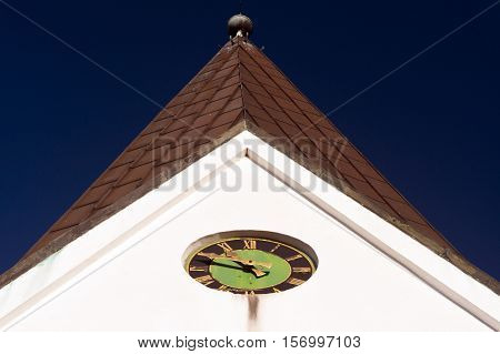 Church Of Nebel On Amrum, Germany