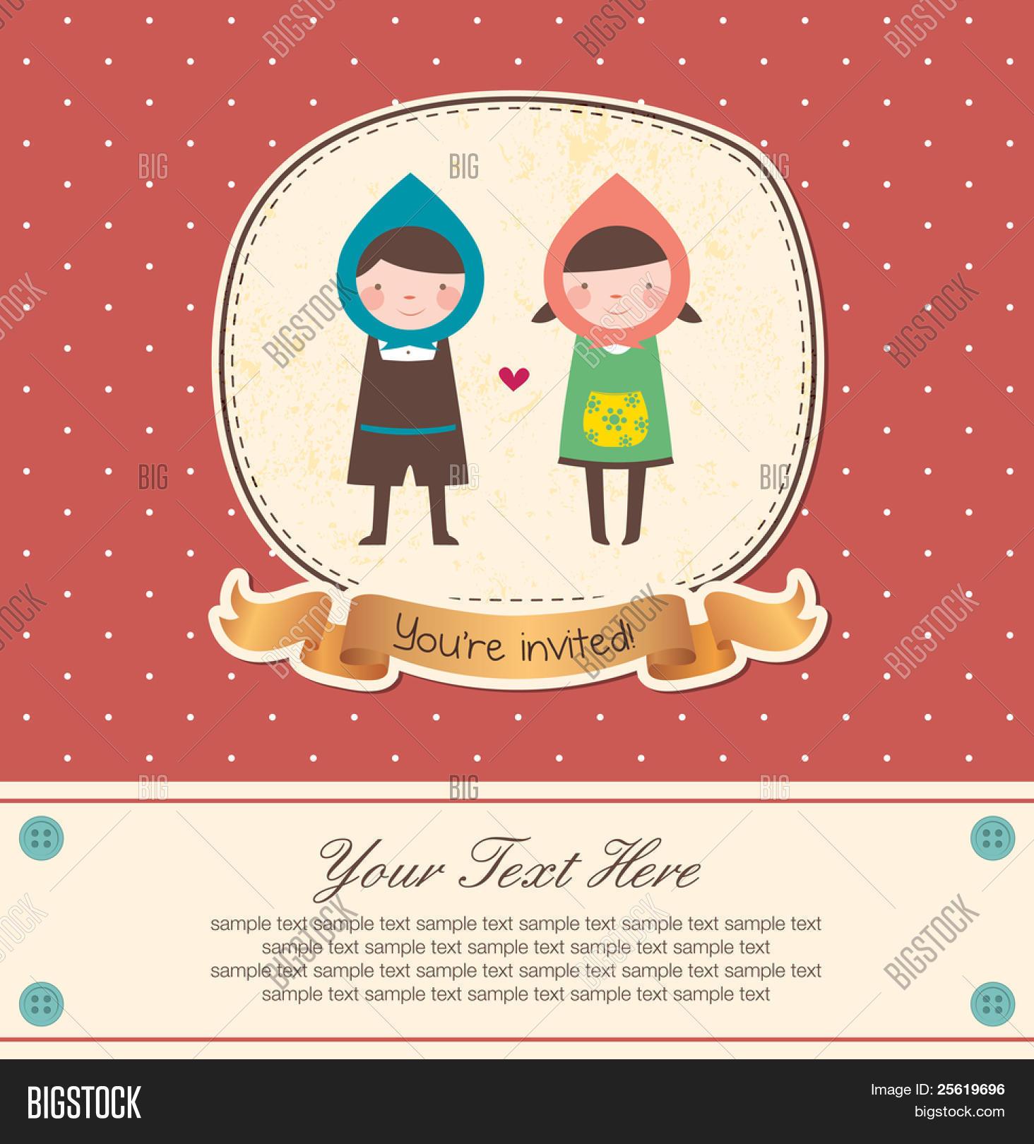 Cute Frame Design Vector & Photo (Free Trial) | Bigstock