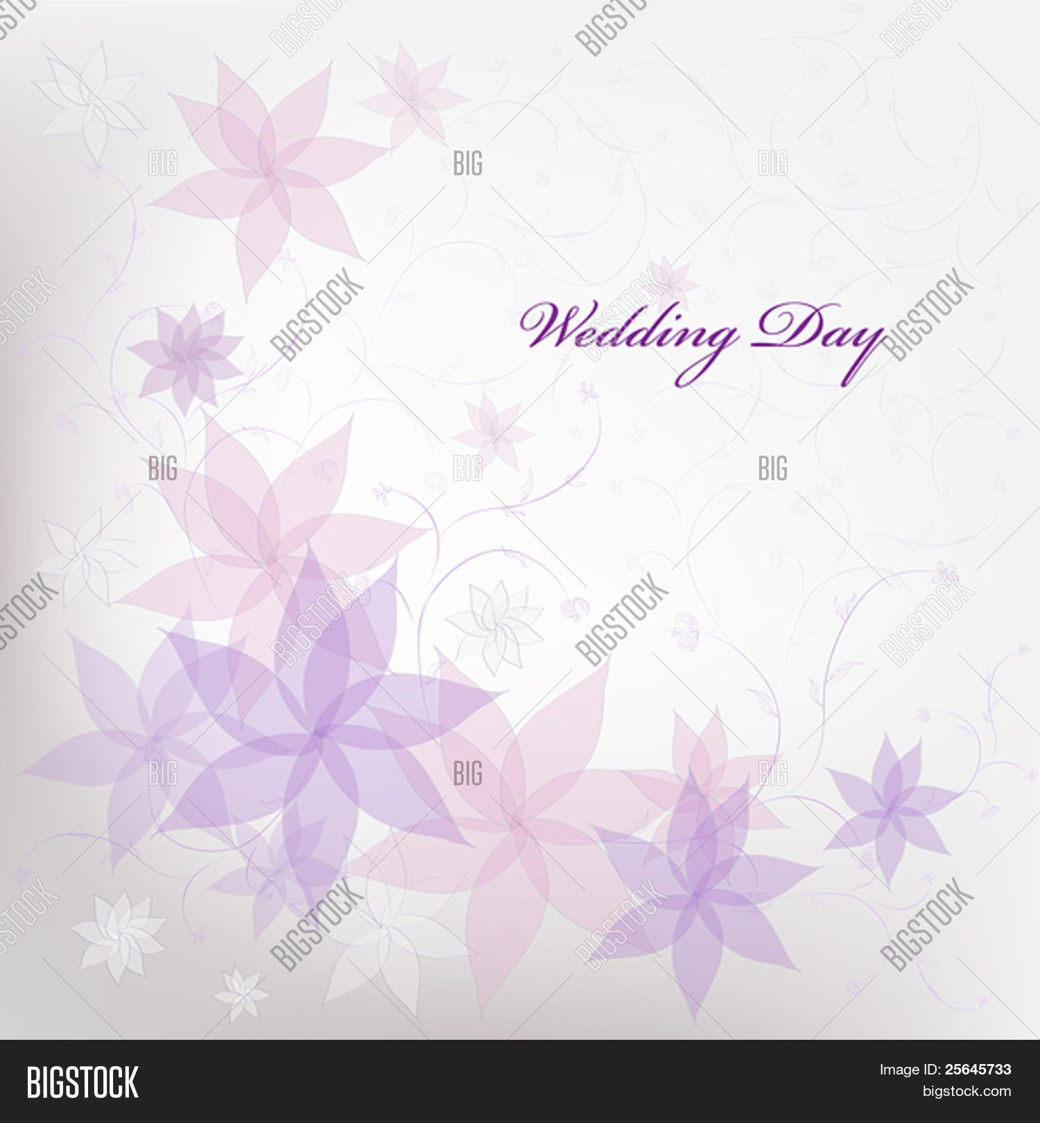 Wedding Floral Vector Photo Free Trial Bigstock