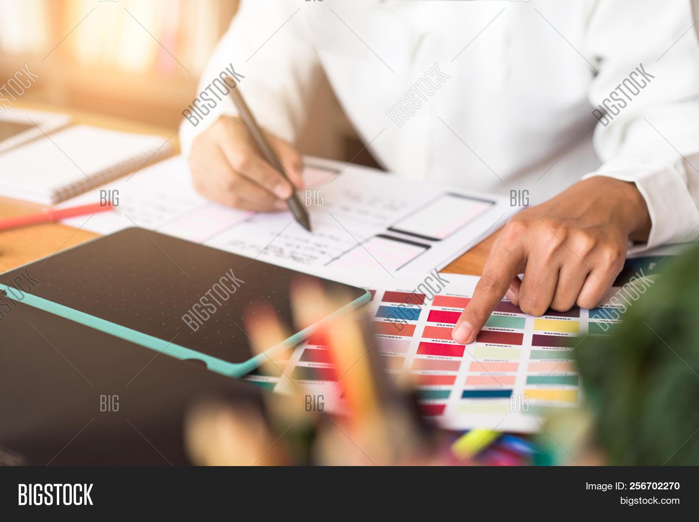 Graphic Designer Hand Image & Photo (Free Trial) | Bigstock