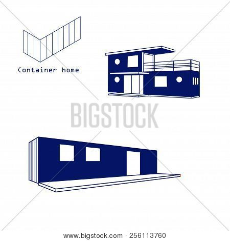 Container House Vector Photo Free Trial Bigstock