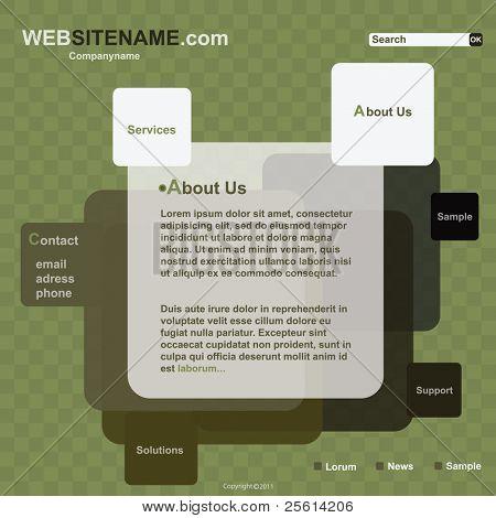 Vector Website Template