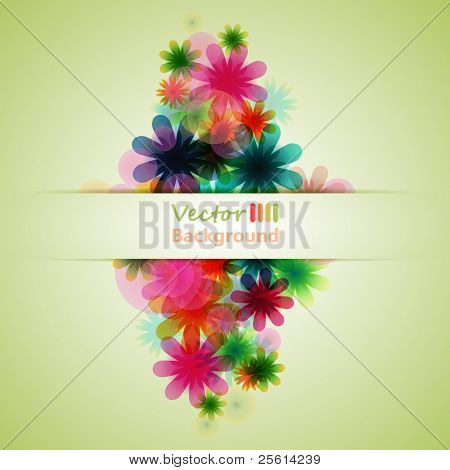 colorful flower background 2