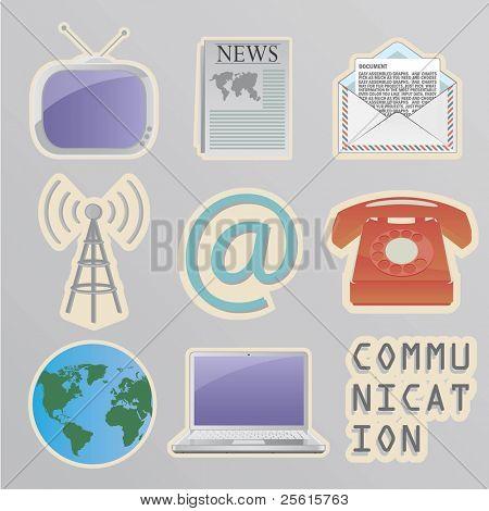 Communication stickers