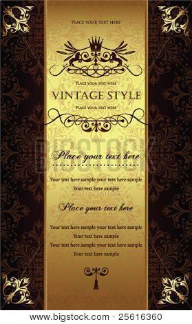 Gorgeous vintage template 2